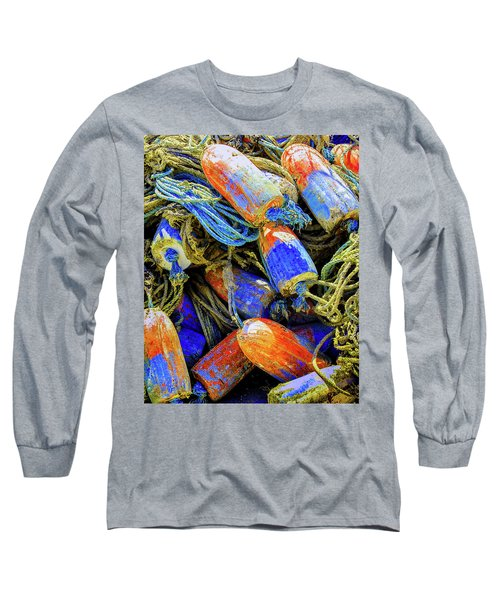 Aqua Hedionda Long Sleeve T-Shirt by Jeffrey Jensen