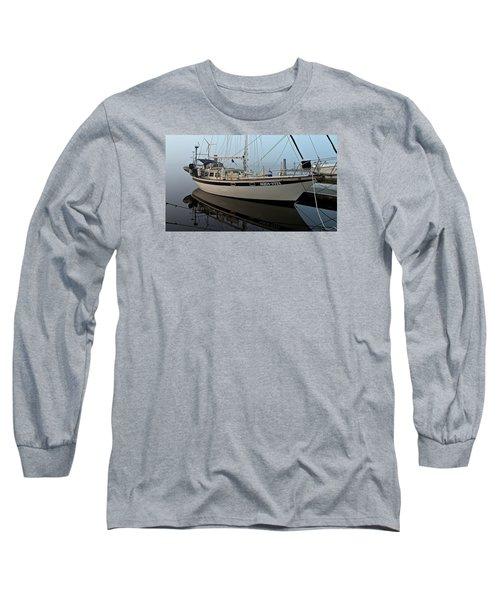 Aqua - Vita Long Sleeve T-Shirt by Laura Ragland