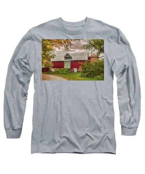 A.r. Potts Barn Long Sleeve T-Shirt by Trey Foerster