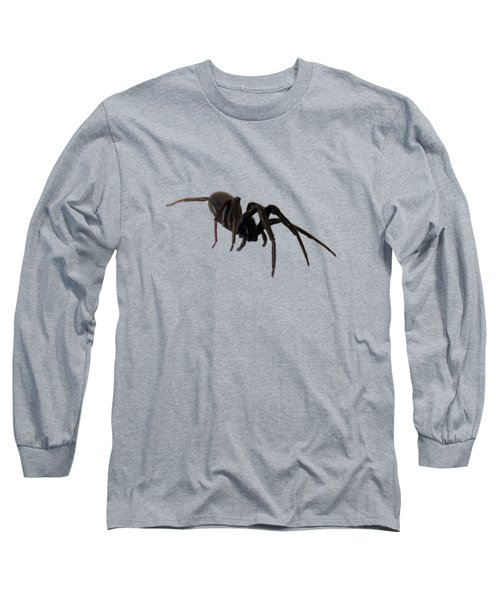 Long Sleeve T-Shirt featuring the photograph Arachne Noire by Marc Philippe Joly