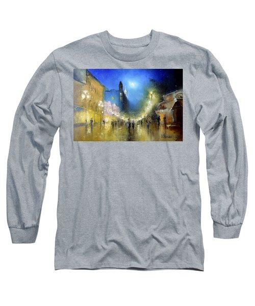 Arbat Night Lights Long Sleeve T-Shirt