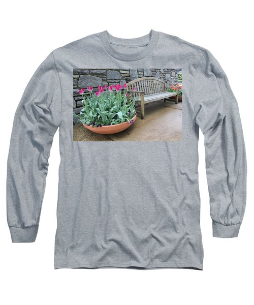 Arboretum Bench  Long Sleeve T-Shirt