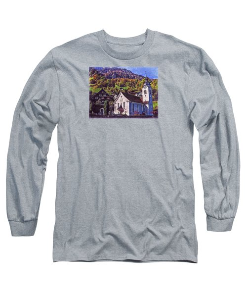 Arcadian Hamlet Long Sleeve T-Shirt by Hanny Heim