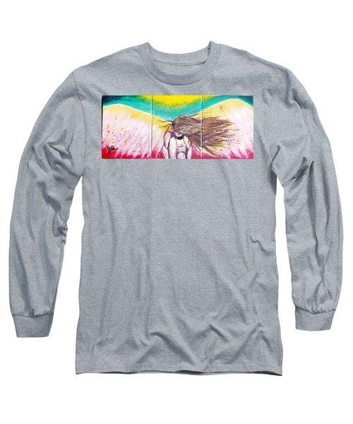 Arch Angel Michael Long Sleeve T-Shirt