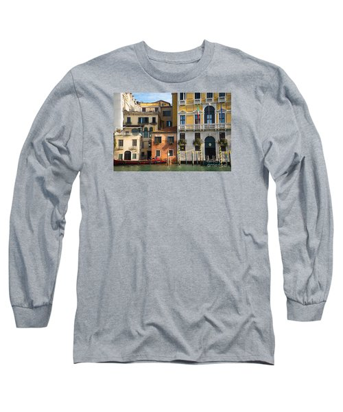 Architecture Of Venice - Italy Long Sleeve T-Shirt
