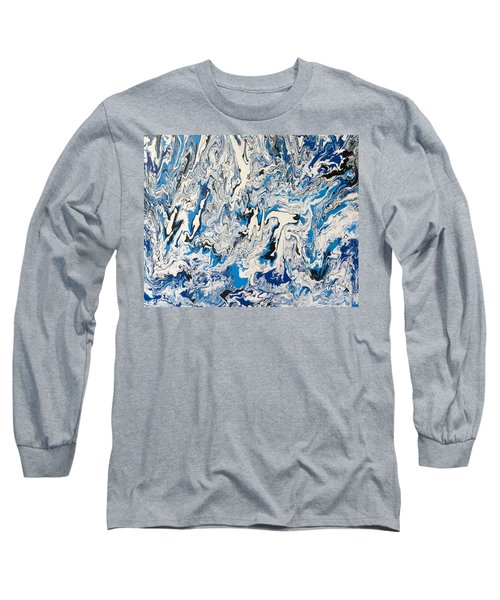 Arctic Frenzy Long Sleeve T-Shirt by Teresa Wing