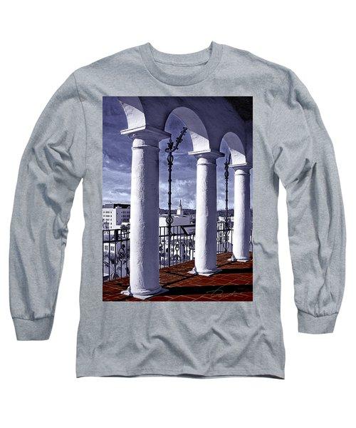 Arlinghton View Long Sleeve T-Shirt by Danuta Bennett