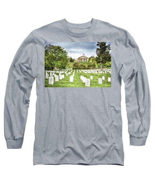 Arlington House Half Mast  Long Sleeve T-Shirt