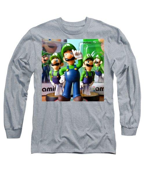 Army Of Luigi Long Sleeve T-Shirt