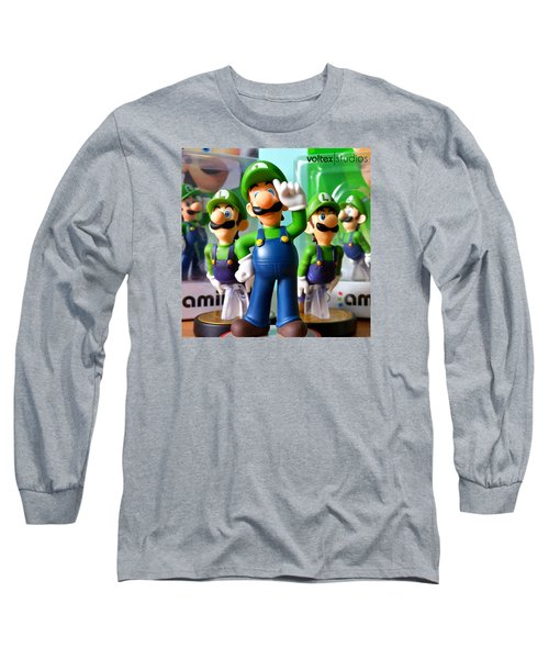 Army Of Luigi Long Sleeve T-Shirt