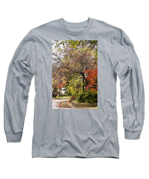 Long Sleeve T-Shirt featuring the photograph Around The Corner by Joan Bertucci
