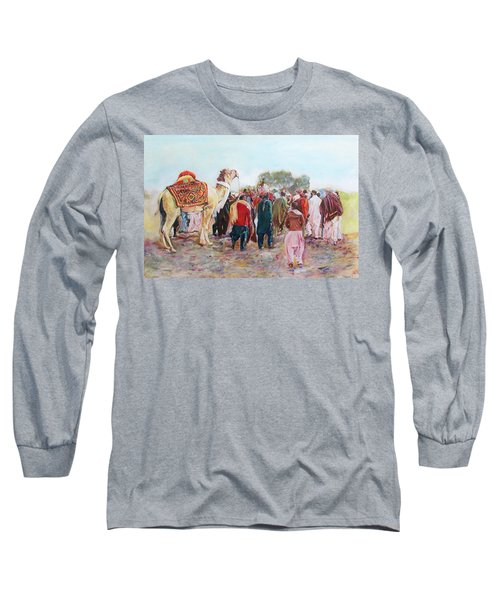 Around The Music Party Long Sleeve T-Shirt