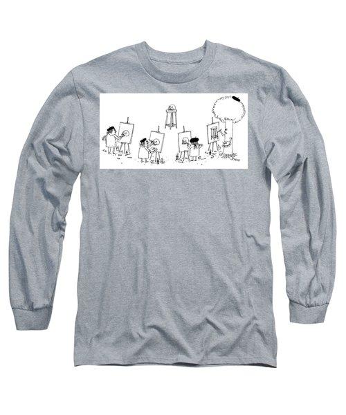 Art Class Long Sleeve T-Shirt