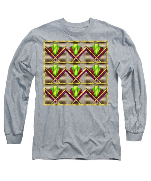 Art Deco Multiview 18  Long Sleeve T-Shirt