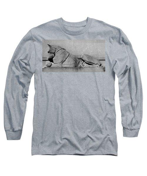 Art Deco Great Dane Long Sleeve T-Shirt
