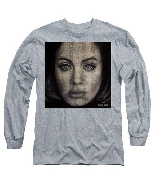 Art In The News 72-adele 25 Long Sleeve T-Shirt