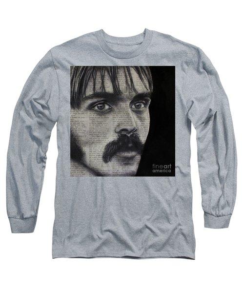 Art In The News 95-steve Prefontaine Long Sleeve T-Shirt