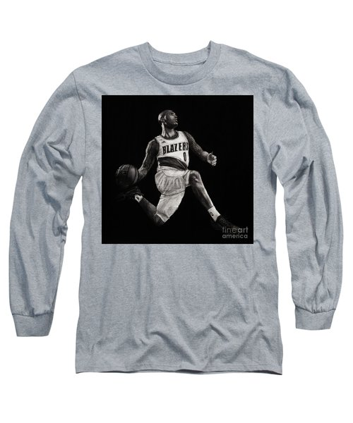 Art In The News- Lillard Long Sleeve T-Shirt