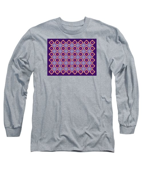 Art Matrix 001 B Long Sleeve T-Shirt