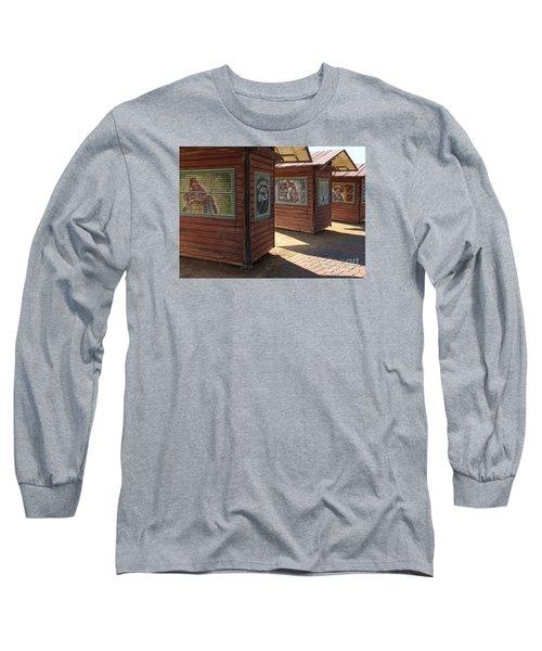 Art Shacks Old Town Long Sleeve T-Shirt