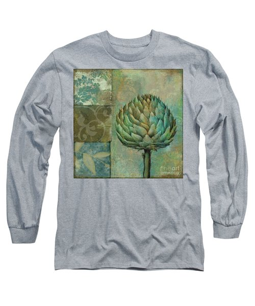 Artichoke Margaux Long Sleeve T-Shirt by Mindy Sommers