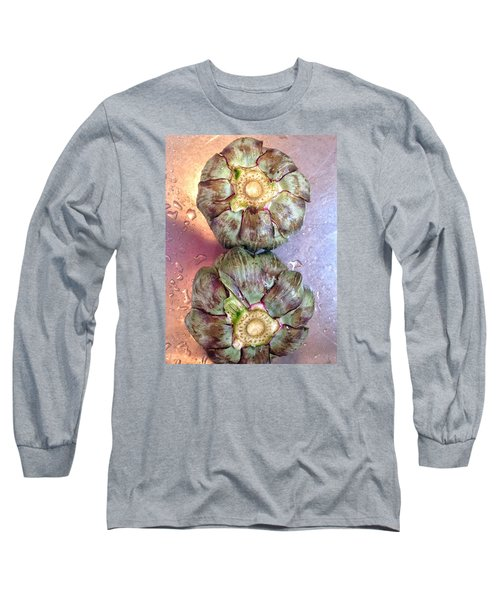 Artichokes In The Sink Long Sleeve T-Shirt by Olivier Calas