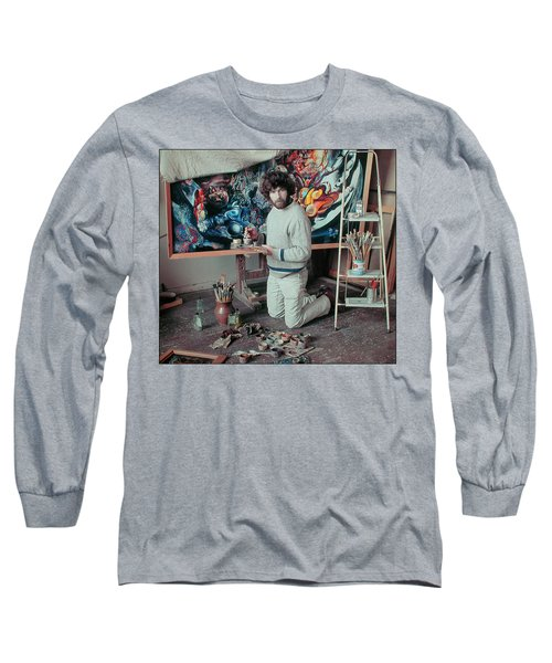 Artist In His Studio Long Sleeve T-Shirt