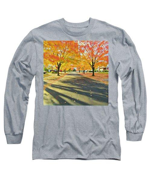 Long Sleeve T-Shirt featuring the photograph Artistic Tulsa Street by Robert Knight