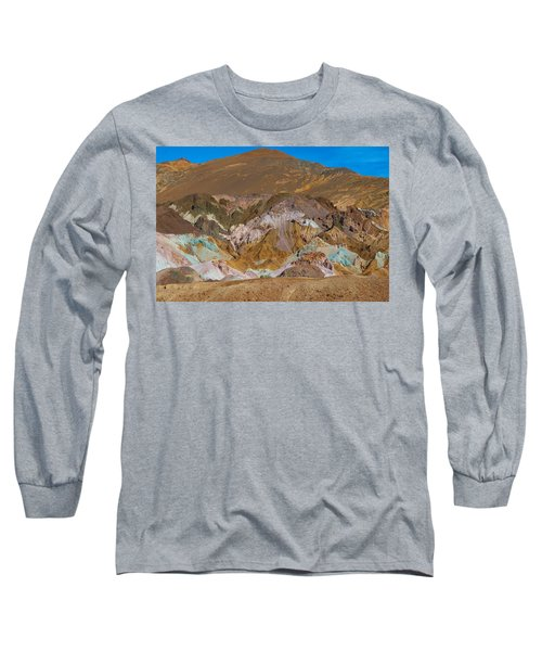 Artists Palette At Death Valley Long Sleeve T-Shirt