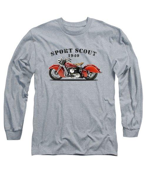 Indian Sport Scout 1940 Long Sleeve T-Shirt