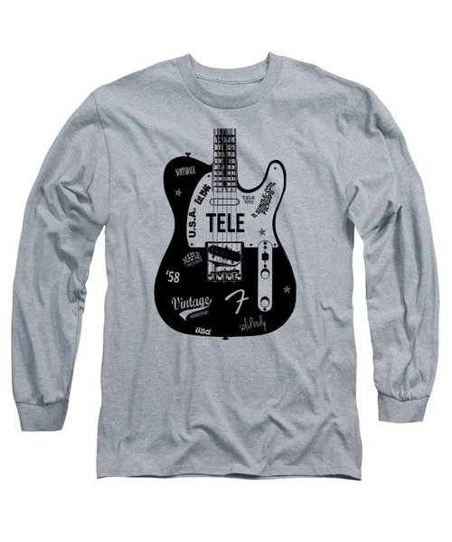 Fender Telecaster 58 Long Sleeve T-Shirt