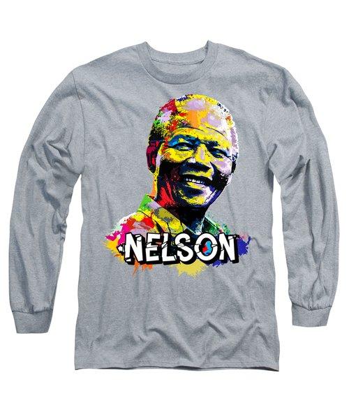 Nelson Mandela Madiba Long Sleeve T-Shirt