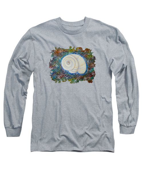 Moonsnail Lace Long Sleeve T-Shirt