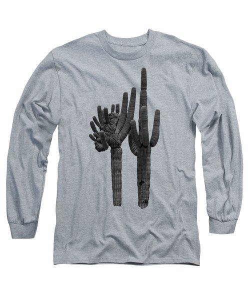 Saguaro Duo Bw Long Sleeve T-Shirt