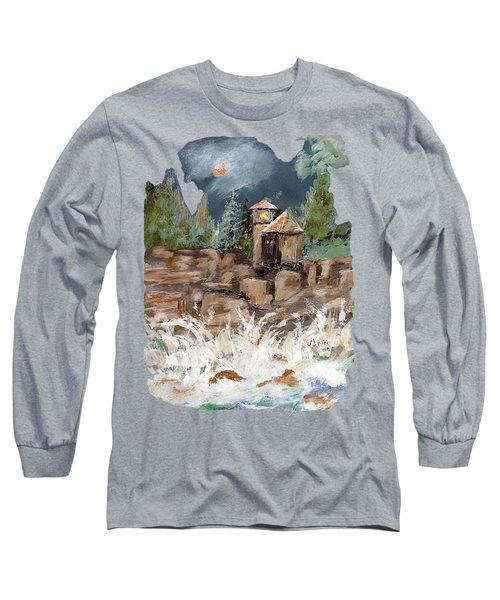 Turbulent Night Long Sleeve T-Shirt