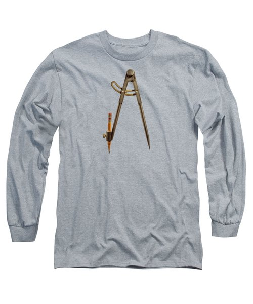 Iron Compass Backside Long Sleeve T-Shirt