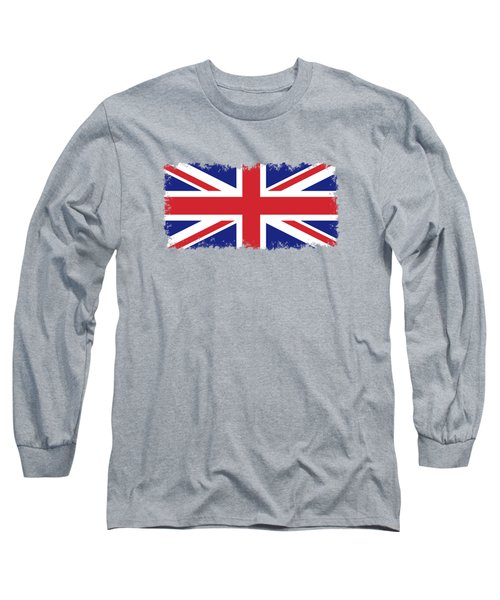 Union Jack Ensign Flag 1x2 Scale Long Sleeve T-Shirt