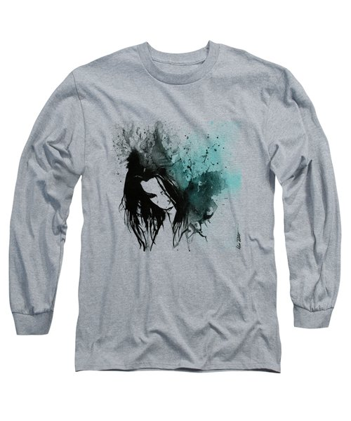 This Confession Means Nothing - Turquoise Long Sleeve T-Shirt