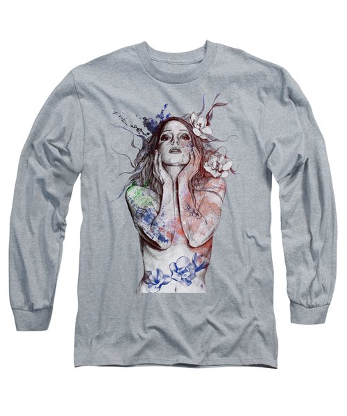 The Withering Spring - Wine Long Sleeve T-Shirt