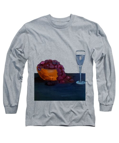 Grapes And Water Long Sleeve T-Shirt