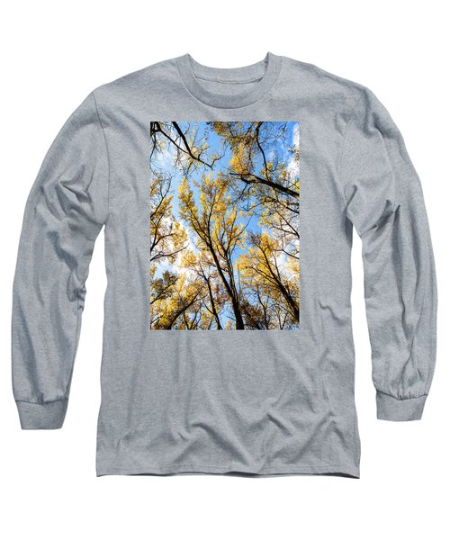 Looking Up Long Sleeve T-Shirt by Bill Kesler