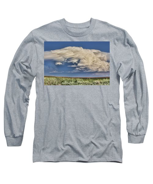Long Sleeve T-Shirt featuring the photograph Cloud Brew by Bill Kesler