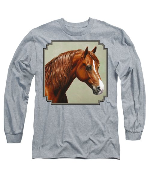 Morgan Horse - Flame Long Sleeve T-Shirt
