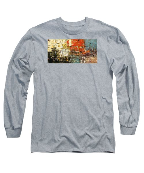 Long Sleeve T-Shirt featuring the painting Artylicious by Carmen Guedez