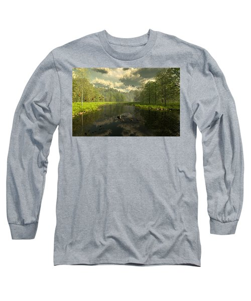 As The River Flows Long Sleeve T-Shirt