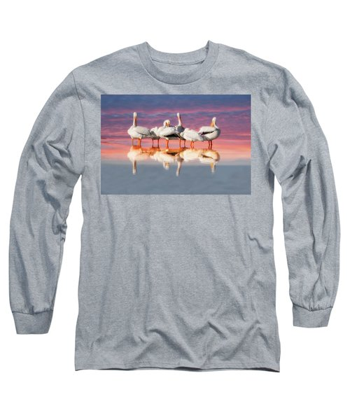 As The Sun Goes Down Long Sleeve T-Shirt