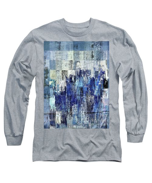 Long Sleeve T-Shirt featuring the digital art Ascension - C03xt-160at2c by Variance Collections