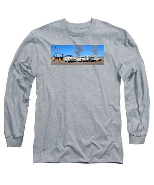 Ash Fork Vintage Cars Along Historic Route 66 Long Sleeve T-Shirt