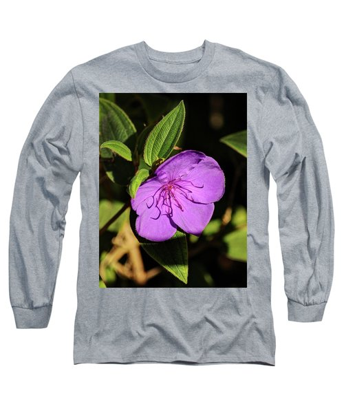 Asian Melastome Long Sleeve T-Shirt