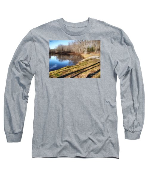 Long Sleeve T-Shirt featuring the photograph Aslant by Betsy Zimmerli